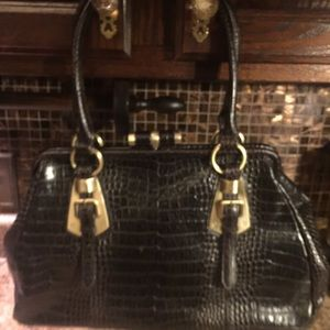 ♥️final cost $10♥️NINE WEST Brown Leather Bag